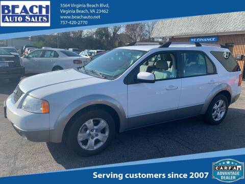 2007 Ford Freestyle for sale at Beach Auto Sales in Virginia Beach VA