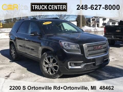 2015 GMC Acadia for sale at Carite Truck Center in Ortonville MI