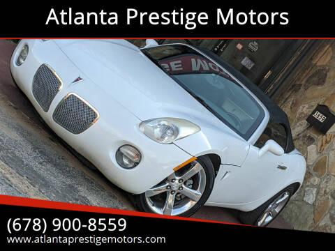 2006 Pontiac Solstice for sale at Atlanta Prestige Motors in Decatur GA