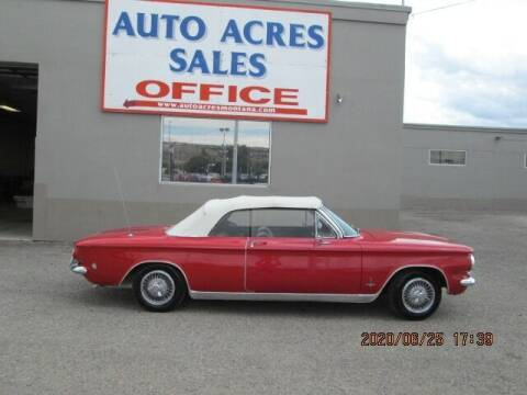 1964 Chevrolet Corvair for sale at Auto Acres in Billings MT