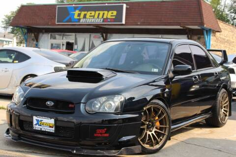 2005 Subaru Impreza for sale at Xtreme Motorwerks in Villa Park IL