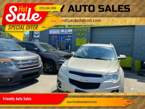 2015 Chevrolet Equinox for sale at Friendly Auto Sales in Detroit MI