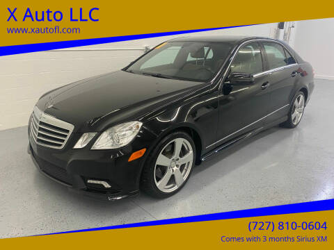2011 Mercedes-Benz E-Class for sale at X Auto LLC in Pinellas Park FL