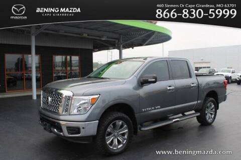 2019 Nissan Titan for sale at Bening Mazda in Cape Girardeau MO