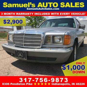 1983 Mercedes-Benz 300-Class for sale at Samuel's Auto Sales in Indianapolis IN