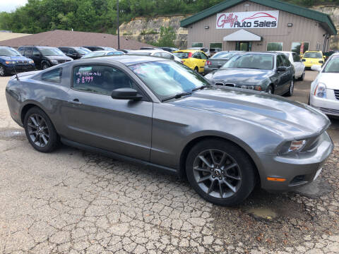 2011 Ford Mustang for sale at Gilly's Auto Sales in Rochester MN