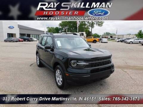2021 Ford Bronco Sport for sale at Ray Skillman Hoosier Ford in Martinsville IN