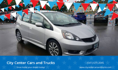 2013 Honda Fit for sale at City Center Cars and Trucks in Roseburg OR