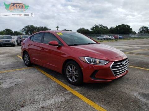 2018 Hyundai Elantra for sale at GATOR'S IMPORT SUPERSTORE in Melbourne FL