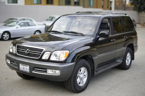 2000 Lexus LX 470 for sale at Sports Plus Motor Group LLC in Sunnyvale CA