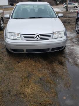 2000 Volkswagen Jetta for sale at Fansy Cars in Mount Morris MI