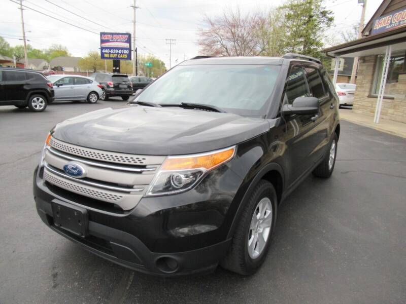 2013 Ford Explorer for sale at Lake County Auto Sales in Painesville OH