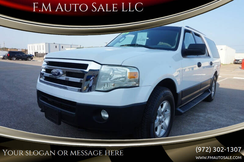2013 Ford Expedition EL for sale at F.M Auto Sale LLC in Dallas TX
