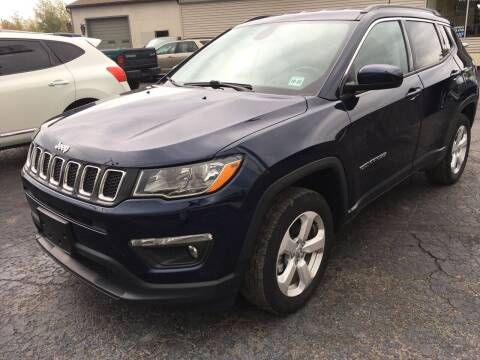 2018 Jeep Compass for sale at Rinaldi Auto Sales Inc in Taylor PA