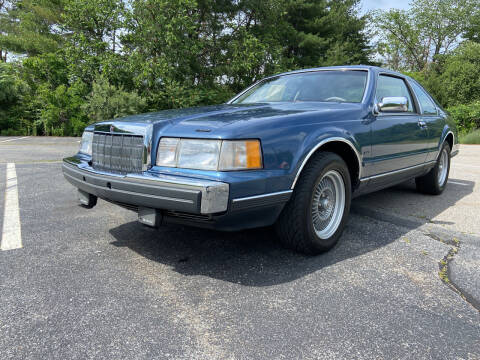 1988 Lincoln Mark VII for sale at Clair Classics in Westford MA