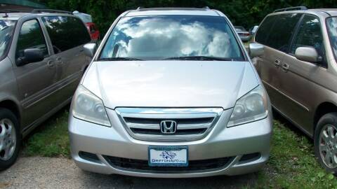 2005 Honda Odyssey for sale at Griffon Auto Sales Inc in Lakemoor IL