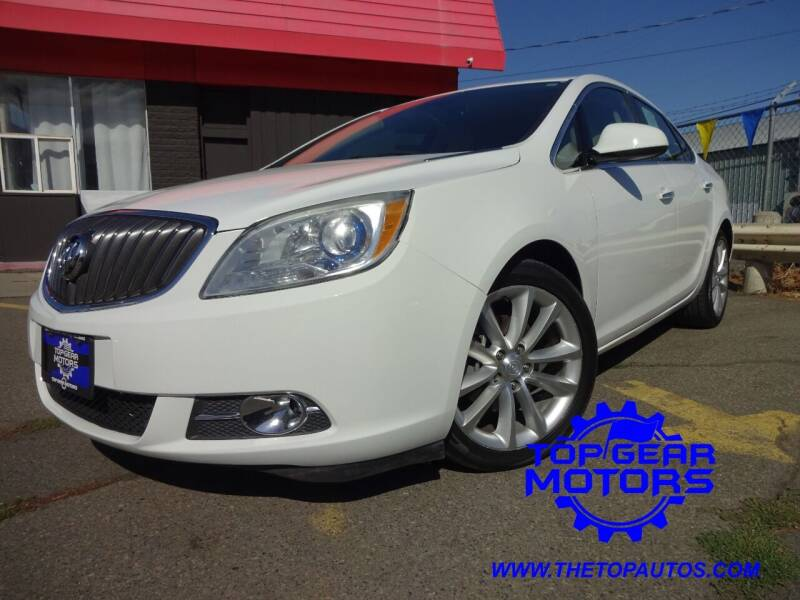 2013 Buick Verano for sale at Top Gear Motors in Union Gap WA