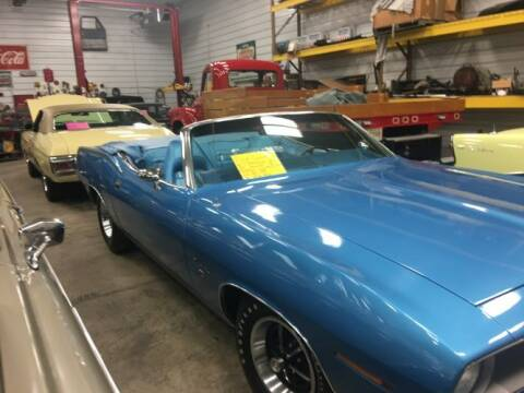 1970 Plymouth Barracuda for sale at Classic Car Deals in Cadillac MI