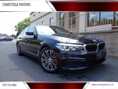 2019 BMW 5 Series for sale at CONESTOGA MOTORS in Ephrata PA