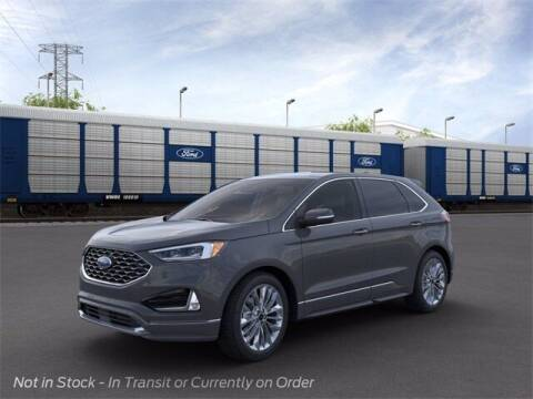 2021 Ford Edge for sale at Szott Ford in Holly MI