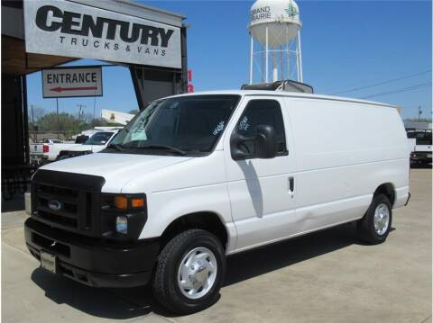 2012 Ford E-Series Cargo for sale at CENTURY TRUCKS & VANS in Grand Prairie TX
