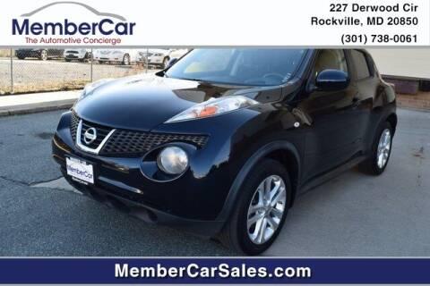 2012 Nissan JUKE for sale at MemberCar in Rockville MD