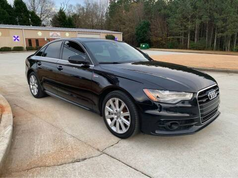 2012 Audi A6 for sale at Two Brothers Auto Sales in Loganville GA
