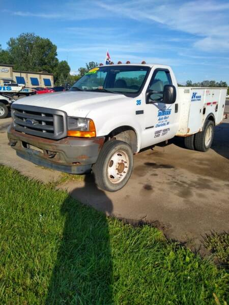 2001 Ford F-450 Super Duty for sale at Davis Auto Mart in Charlotte MI
