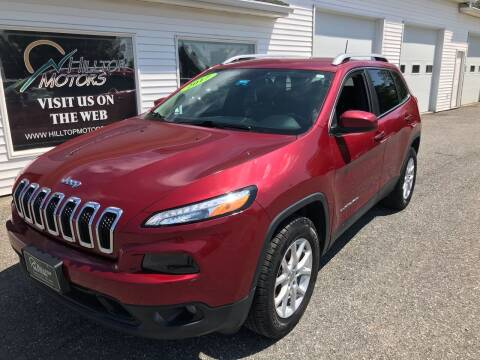 2017 Jeep Cherokee for sale at HILLTOP MOTORS INC in Caribou ME