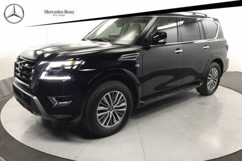 2021 Nissan Armada for sale at Stephen Wade Pre-Owned Supercenter in Saint George UT