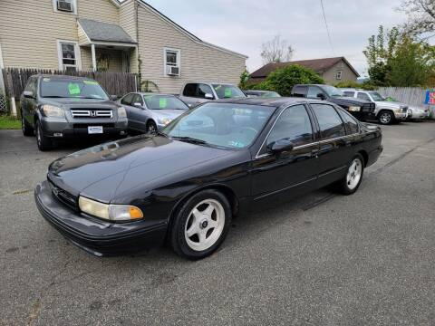 1994 Chevrolet Impala for sale at GREAT MEADOWS AUTO SALES in Great Meadows NJ