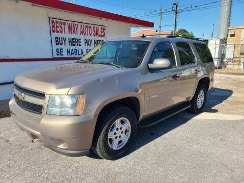 2007 Chevrolet Tahoe for sale at Best Way Auto Sales II in Houston TX