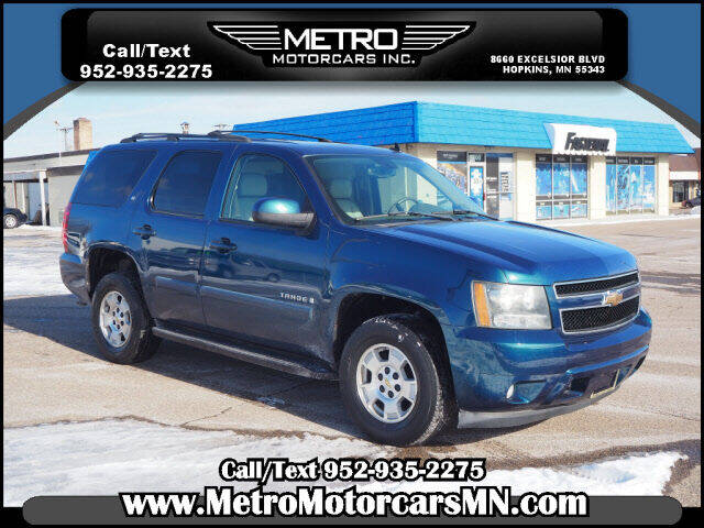 2007 Chevrolet Tahoe for sale at Metro Motorcars Inc in Hopkins MN