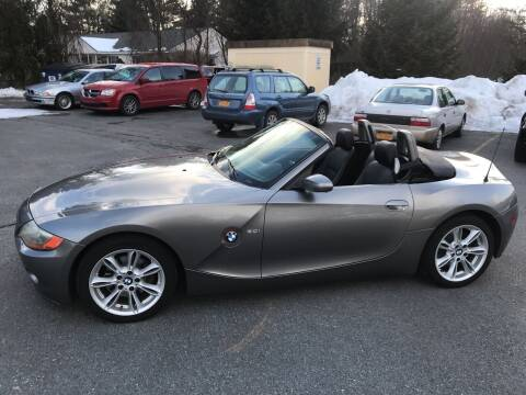 2003 BMW Z4 for sale at R & R Motors in Queensbury NY