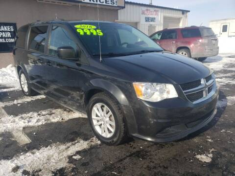 2016 Dodge Grand Caravan for sale at Used Car Factory Sales & Service Troy in Troy OH