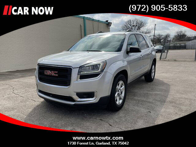 2015 GMC Acadia for sale at Car Now in Dallas TX