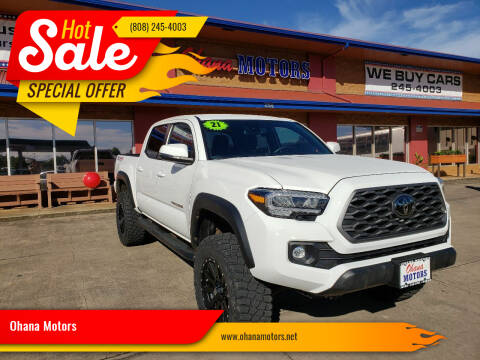 2021 Toyota Tacoma for sale at Ohana Motors - Lifted Vehicles in Lihue HI