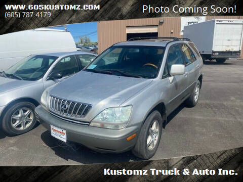 2002 Lexus RX 300 for sale at Kustomz Truck & Auto Inc. in Rapid City SD