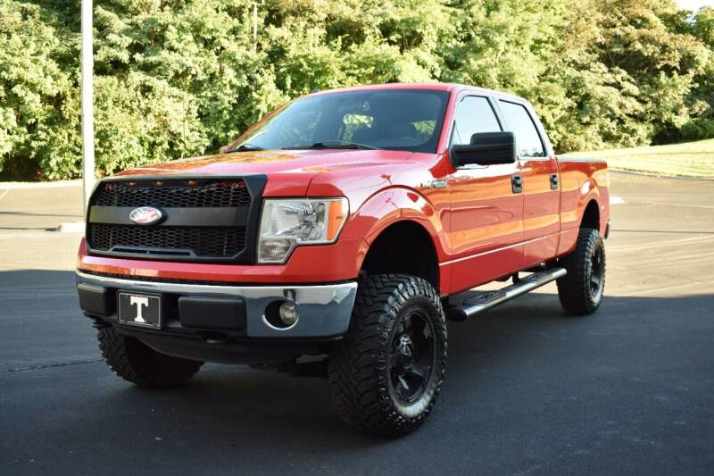 2013 Ford F-150 for sale at Alpha Motors in Knoxville TN