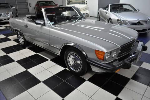 1988 Mercedes-Benz 560-Class for sale at Podium Auto Sales Inc in Pompano Beach FL