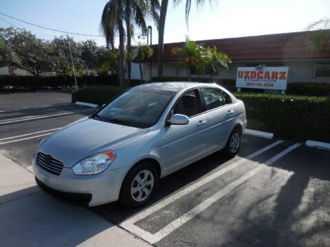 2011 Hyundai Accent for sale at Uzdcarz Inc. in Pompano Beach FL