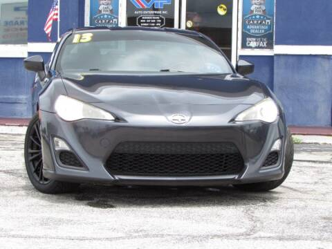 2013 Scion FR-S for sale at VIP AUTO ENTERPRISE INC. in Orlando FL