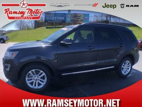 2017 Ford Explorer for sale at RAMSEY MOTOR CO in Harrison AR