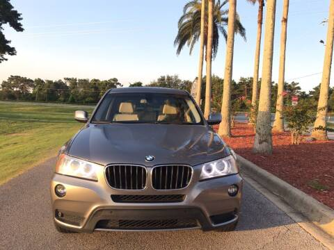 2013 BMW X3 for sale at Gulf Financial Solutions Inc DBA GFS Autos in Panama City Beach FL