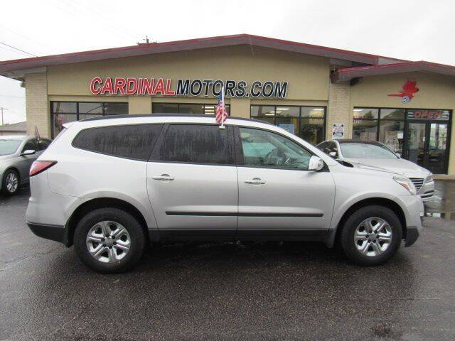 2015 Chevrolet Traverse for sale at Cardinal Motors in Fairfield OH