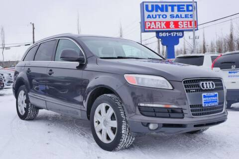 2007 Audi Q7 for sale at United Auto Sales in Anchorage AK