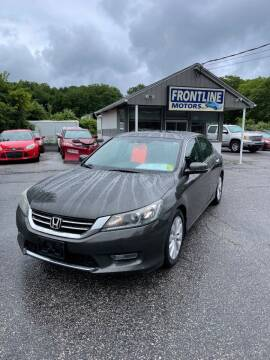 2013 Honda Accord for sale at Frontline Motors Inc in Chicopee MA