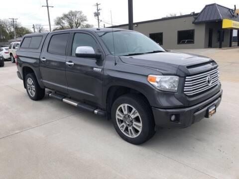 2014 Toyota Tundra for sale at Tigerland Motors in Sedalia MO