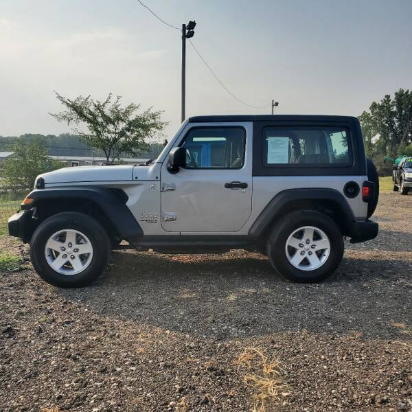 2019 Jeep Wrangler for sale at Simmons off road sales LLC in Saint Johns MI