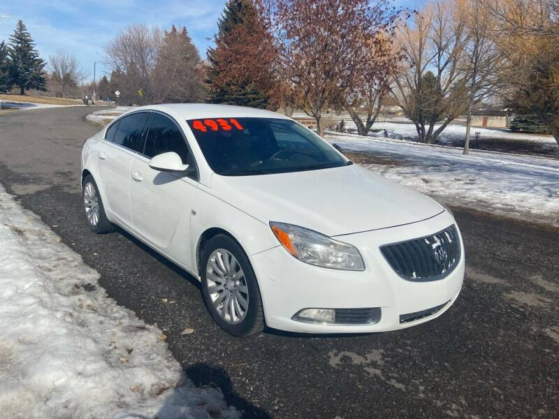 2011 Buick Regal for sale at BELOW BOOK AUTO SALES in Idaho Falls ID